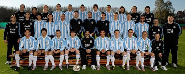 Lista de 23 convocados por Maradona para el Mundial