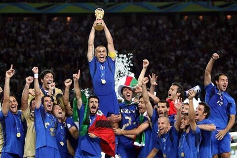 Italia, campeona del mundo en 2006